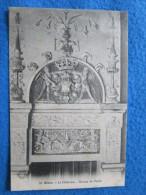 Blois. Le Chateau. Dessus De Porte. Grand Bazar 55. - Blois