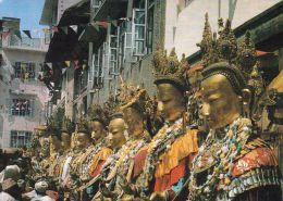 1 AK  Nepal * Samyak Buddha Statuen * - Nepal