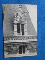 Chateau De Blois. Fenetre Et Balustrade De L'Aile Louis XII. ND 458. - Blois