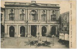 Malta The Public Library Valletta Queen's Square French Marine Commandant Riviere Armée Navale Torpilleurs WWI - Malte