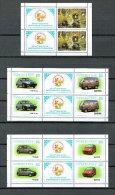 Usbekistan -  Autos / Cars 2001 (**/MNH) - Kleinbogensatz - Uzbekistan
