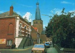Baarle Nassau Hertog  Belg Gemeentehuis   Oldtimer  /car - Baarle-Hertog