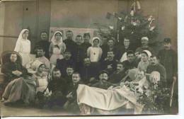 11551 - Ain - BELLEY -  INFIRMIERES Et BLESSES   Hop.Comp.N° 10 -   Carte Photo .Marcelin  à Situer ?? - Belley