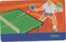 BRAZIL(Telefonica) - Athens 2004 Olympics/Ping Pong, 07/04, Used - Jeux Olympiques