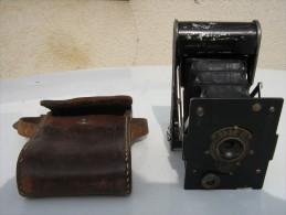 Appareil Photo Pocket Kodak - Armée Américaine 14/18 Avec Son étui D´origine - En état De Fonctionnement - 1914-18