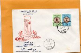 Libya 1961 FDC - Libye
