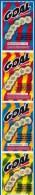 4 GOAL ATTACHES TICKET DE GRATTAGE PARFAIT LOTERIE FDJ FRANCAISE DES JEUX 580020032281-146 A 149 EMISSION PBL N° 2 - Billets De Loterie