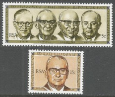 South Africa. 1981 20th Anniv Of Republic. MNH Complete Set SG 493-494 - South Africa (1961-...)