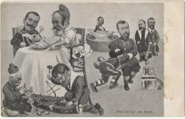 Satirical Nicolas II Fighting With Japanse Port Arthur Russo Jap.  War Macaroni Combes Pot De Chambre Franc Maçonnerie - Russia