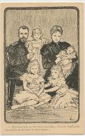 Tsar Czar Nicolas II  Nicolaievitch Cousin Guillaume Kaiser Imperial Family - Russia