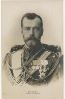 Nicolaus II Kaiser Von Russland Real Photo Tsar Czar Nicolas II - Russia