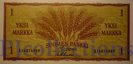 FINLAND 1 MARKKA 1963 PICK 98 UNC - Finland