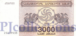 GEORGIA 3000 LARIS 1993 PICK 45 UNC - Géorgie