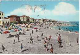 36079 - ITALY EMILIA-ROMAGNA RIMINI VISERBA THE BEACH  POSTCARD - Rimini