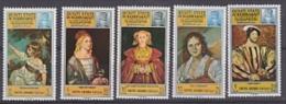 Aden Hadhramaut Paintings 5v ** Mnh (F2975) - Postzegels