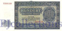 GERMANY DEMOCRATIC REPUBLIC 100 MARK 1948 PICK 15a UNC - [ 5] Ocupación De Los Aliados