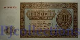 GERMANY DEMOCRATIC REPUBLIC 100 DEUTSHEMARK 1955 PICK 21 UNC - [ 6] 1949-1990 : GDR - German Dem. Rep.