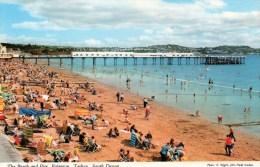 Postcard - Paignton Pier & Beach, Devon. 3DC200 - Paignton