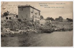 MALLORCA - Vista Del Hotel Cas Catala - TRES RARE - 1906 - - Palma De Mallorca