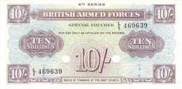 GREAT BRITAIN 10 SHILLINGS ND PICK M35b UNC - Military Issues