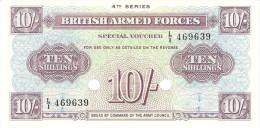 GREAT BRITAIN 10 SHILLINGS ND PICK M35b UNC - Autorità Militare Britannica
