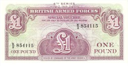 GREAT BRITAIN 1 POUND ND PICK M36a UNC - British Military Authority