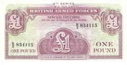 GREAT BRITAIN 1 POUND ND PICK M36a UNC - Autorità Militare Britannica