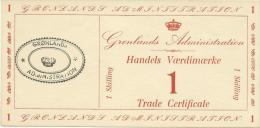 GREENLAND 1 SKILLING 1942 PICK M8 AU+ - Groenlandia