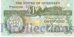 GUERNSEY 1 POUND 1991 PICK 52c UNC - Guernsey