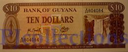 GUYANA 10 DOLLARS 1992 PICK 23f UNC - Guyana