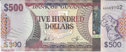GUYANA 500 DOLLARS 2011 PICK NEW UNC - Guyana