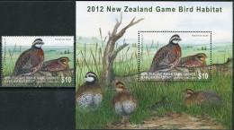 New Zealand 2012. MNH/Luxe. Birds (TS20) - Birds