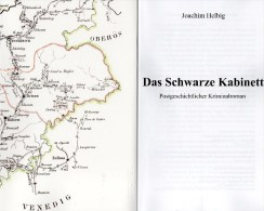 MICHEL Krimi Das Schwarze Kabinett 2014 Neu ** 20€ Philatelistische Kriminalroman New Philatelic History Book Of Germany - German