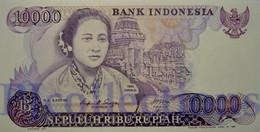 INDONESIA 10000 RUPIAH 1985 PICK 126a UNC - Indonésie