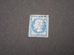 FRANCE-  N° YVERT N°14A  AVEC UNE OBLITERATION ROULEAU DE GROS POINTS   A VOIR TB     LOT P2541 - 1853-1860 Napoleon III