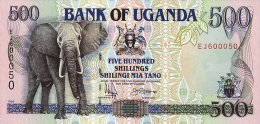 Uganda 500 Shillngs 1996 Pick 35 UNC - Ouganda