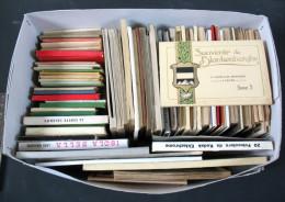 59 Carnets De Cartes Postales De Sites Et Voyages - Postcards