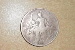 """5 Centimes """"Dupuis"""" 1900 / TB/ Manque Le """"1"""" Coin Bouché. - France"""