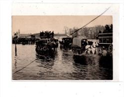 Paris  Inondations , Esplanade Des Invalides - Paris Flood, 1910