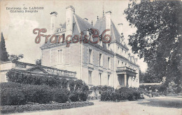 (33) Langon Environs - Château Respide - 2 SCANS - France