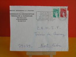 Flamme - 77 Seine Et Marne, Montereau, Port De L'Est Parisien - 15.10.1981 - Marcophilie (Lettres)