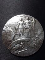 RARE MEDAILLE EN ARGENT  : A LA GLOIRE DES HEROS DE VERDUN 1916 PAR CH.PILLET - France
