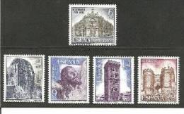 SpaMi.Nr.2562-66//  - SPANIEN - 1982, Sehenswürdigkeiten ** - 1931-Heute: 2. Rep. - ... Juan Carlos I