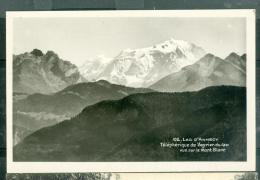 N°102 - Lac D'annecy  - Teleferique Du Veyrier Du Lac - Vue Sur Le Mont Blanc   - Faz125 - Veyrier