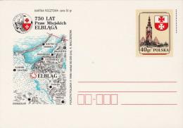 POLEN 1996, 40gr Ganzsache Auf Bild-Postkarte - Ganzsachen