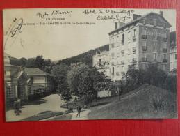 """CPA  63 PUY DE DOME CHATELGUYON- """"LE CASTEL REGINA""""  1910 HÔTEL Ed: CCCC - Châtel-Guyon"""