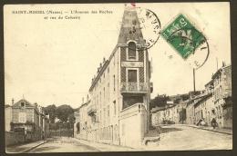 SAINT MIHIEL 2 CPA Des Baraquements De Chasseurs à Pied (Maton Herbin) Meuse (55) - Saint Mihiel