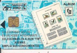 TARJETA COLECCIONA SELLOS TIRADA 2000 - Sellos & Monedas