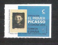 España 2015-1 Sello Nuevo ** Exposicion Picasso En La Coruña-Espagne Spain Spanien Spagna - 2011-... Unused Stamps