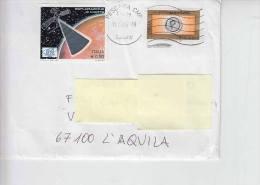 ITALIA 2006 -lettera - 2840  Marte - Spazio - 6. 1946-.. Repubblica